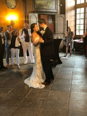 Their first dance