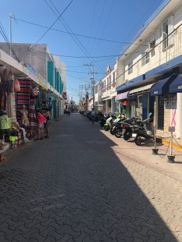 Streets of Isla Mujeres