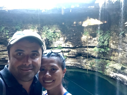 After plunging into the Cenotes