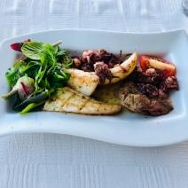 Squid plate @ Baia