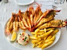 Shellfish platter @ Baia