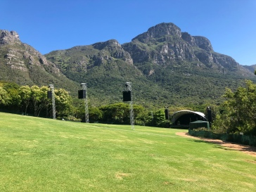 Kirstenbosch - venue for summer concerts