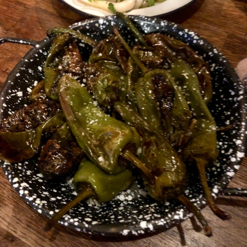 Padron peppers £3.5
