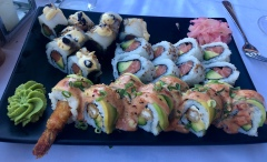 Sushi platter @ Harbour House