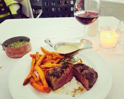 Fillet steak @ Belthazar