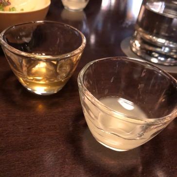 Citrus and plum sake