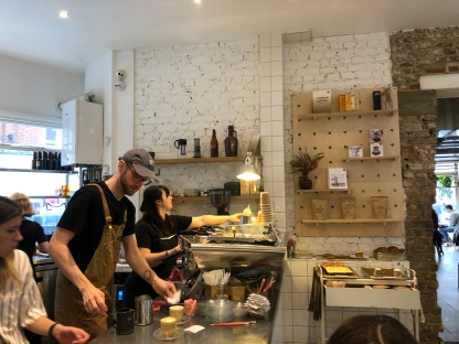 Barristas at work