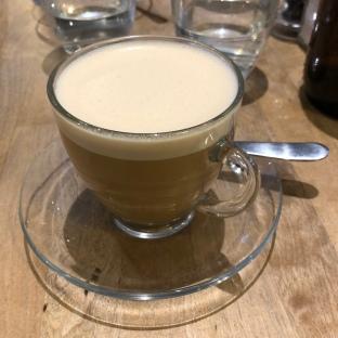 Oat milk cappuccino