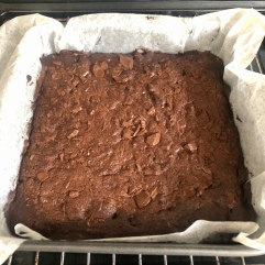 Brownie: Out of the oven